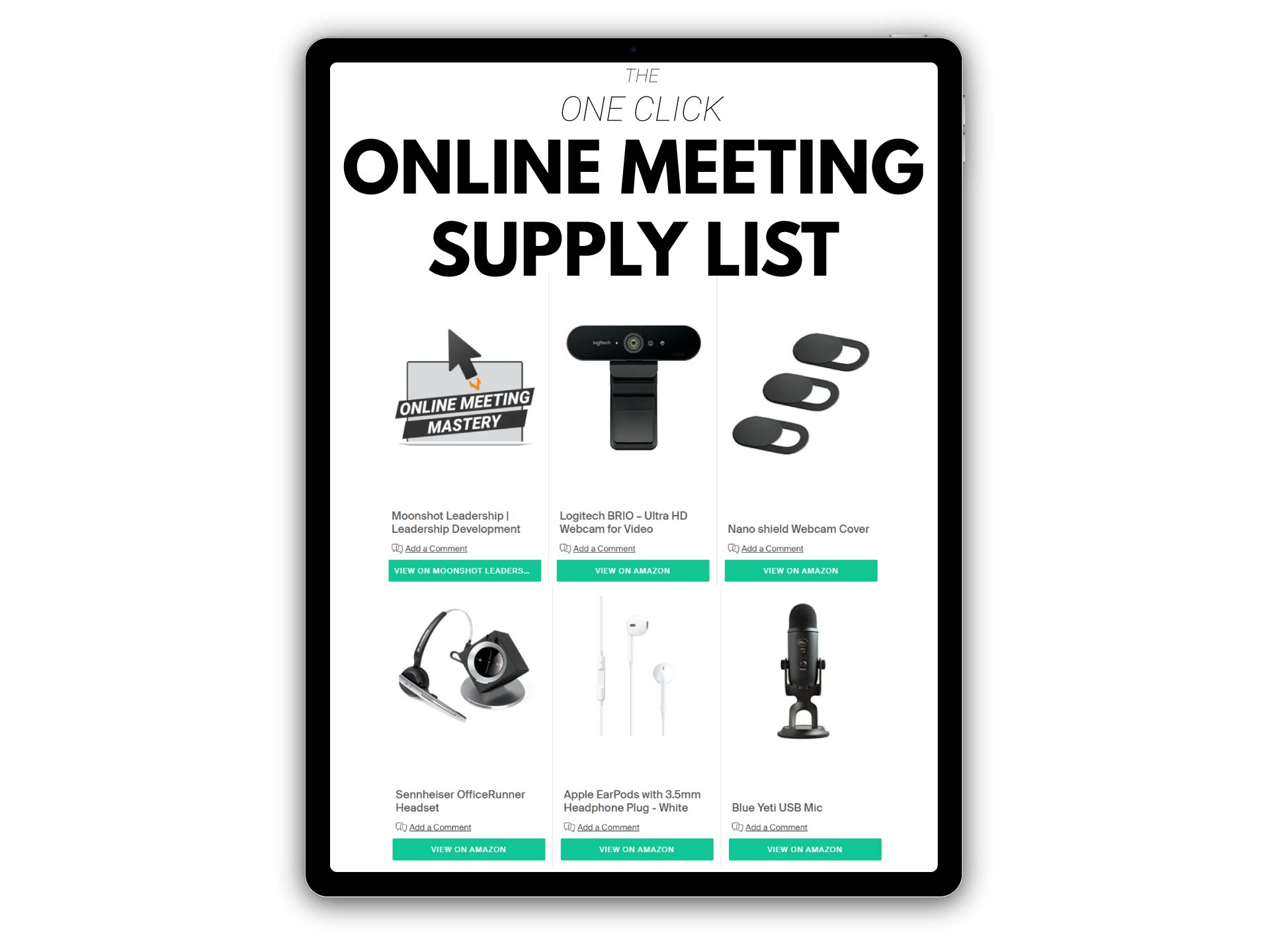 One-Click-Online-Meeting-Supply-List