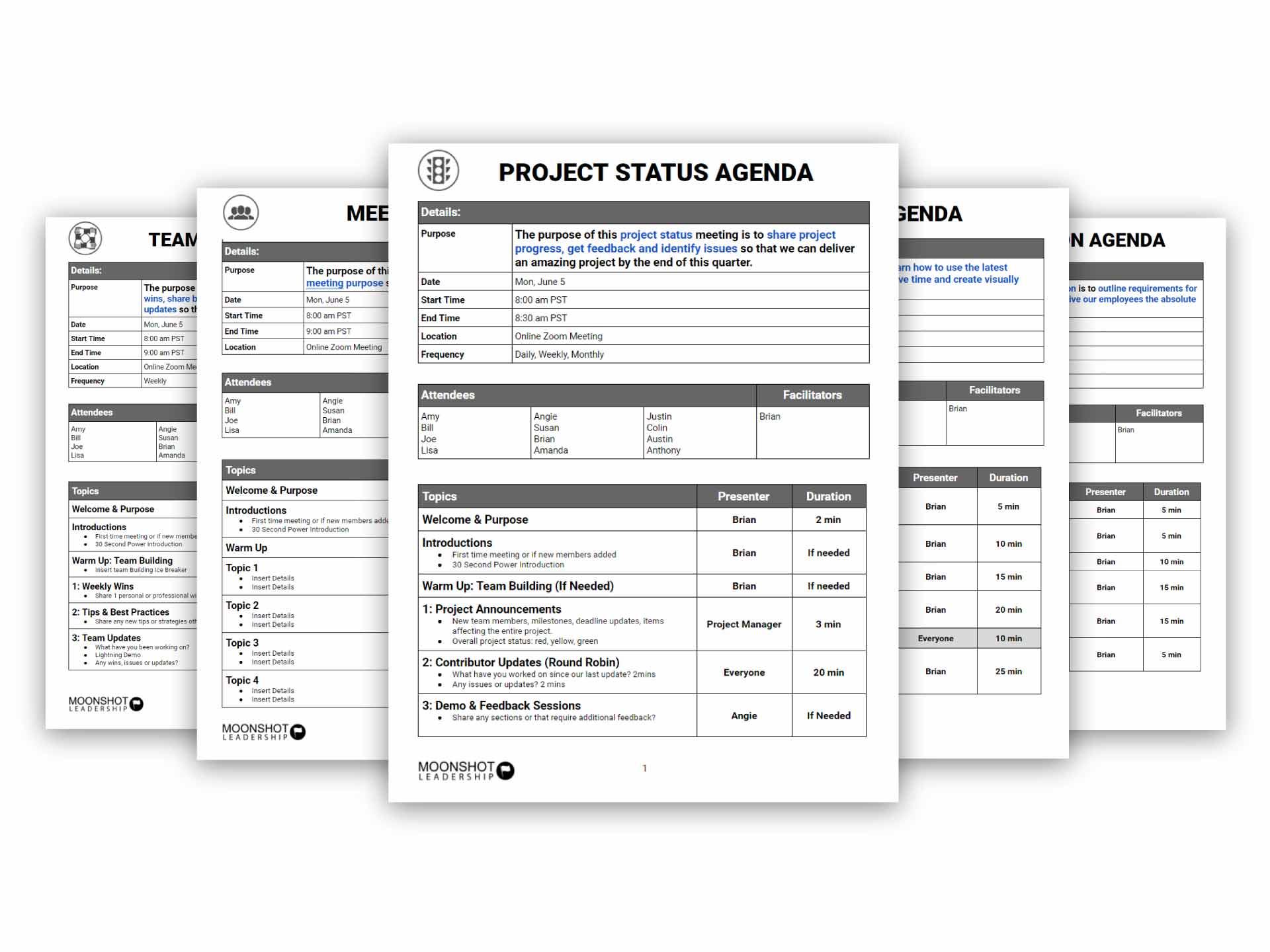 Online-Meeting-Agenda-Templates-Bundle